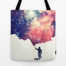 Painting the universe Tote Bag by Badbugs_art | Society6