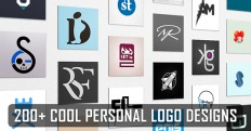 200 Best Personal Logo Design Examples for Inspiration