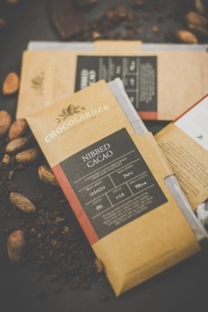Chocolarder. From bean to bar, pencil to packaging.