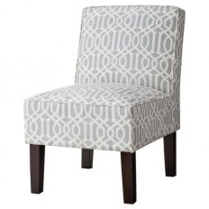Threshold™ Slipper Chair - Gray Lattice : Target