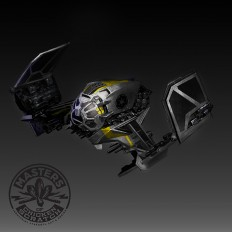 Tie Fighter redesign on