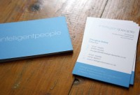 Intelligent People Business Cards - Business Cards - Creattica