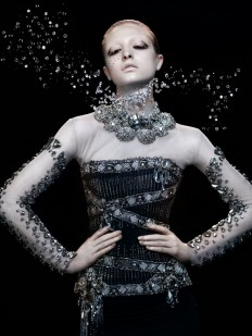 Fashion Flick: Swarovski Elements in German Vogue