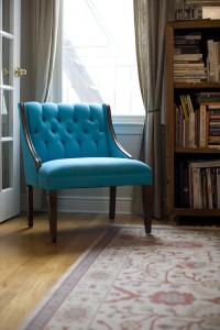 the haystack needle: reupholster a chair