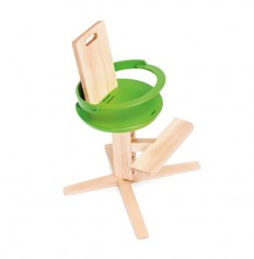 Wooden High Froc Chair for Toddlers and Kids - InteriorZine