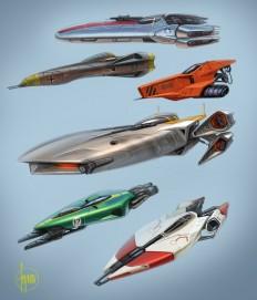 ArtStation - Ships...a smattering., John Frye   CONCEPT • ROBOTS, SHIPS & SUITS   Pinterest