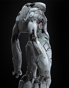 bot by michael menzelincef | CONCEPT • ROBOTS, SHIPS & SUITS | Pinterest