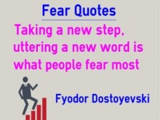 Fear Quotes - Brain Training Tools and Quotes