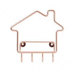Home Key Hook - Copper | Flux Boutique