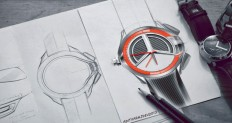 wrist watch design - sketches & renders on