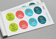 Custom Round Labels | Essmak