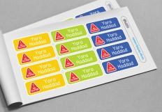 Food Allergy Alert Labels & Stickers for Schools – Allergy Label Value Pack – Essmak