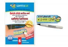Safety Tattoos & Labels for Kids   Child Safetytat – Essmak