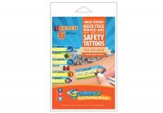Safety Tattoos & Labels for Kids | Child Safetytat – Essmak