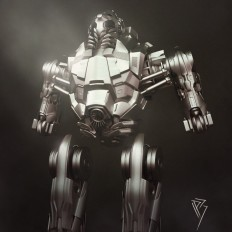 ArtStation - Combat Robot, Pedro Baltazar