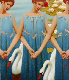 Andrey Remnev—Swan Lake, 2008  via Art of Darkness... - Art of Darkness