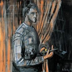 amare-habeo: Albert Oehlen (German, 1954) ... - Art of Darkness