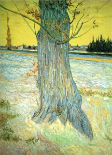 Vincent Van Gogh—Trunk of an Old Yew Tree,... - Art of Darkness