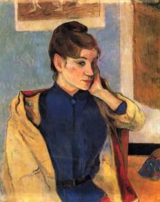 Paul Gauguin—Portrait of Madelaine Bernard, sister... - Art of Darkness