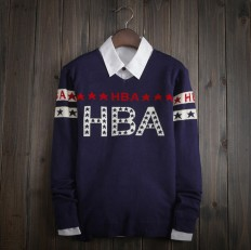 Casual Vintage Men's Comfortable HBA Knitted Sweater – Shop with Hearts