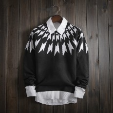 Casual Vintage Men's Comfortable Soft Knitted Sweater – Shop with Hearts