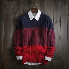 Casual Men's Vintage Comfortable Classic Cable Knit Sweater – Shop with Hearts