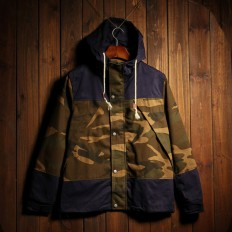 Men's Vintage Camo Quilted Lightweight Hooded Jackets – Shop with Hearts