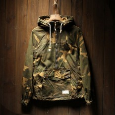 Vintage Men's Camo Military Jackets with Hood – Shop with Hearts
