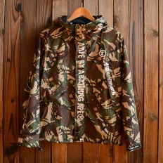 Men's Camo Slim Fit Quilted Lightweight Hooded Jackets – Shop with Hearts