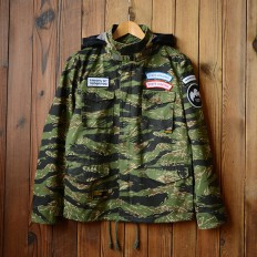 Vintage Men's Embroidered Camo Jackets with Hood – Shop with Hearts