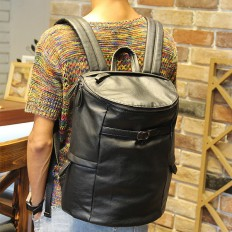 Vintage Mens 14 inch Laptop Bag Leather Bucket Backpack – Shop with Hearts