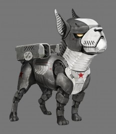 ArtStation - Robot Guard Dogs, Michael Kingery