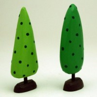 two trees by bunnywithatoolbelt on Etsy