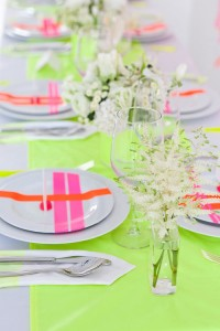 neon wedding | Design*Sponge