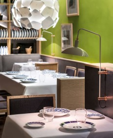 Cozy Restaurant with Playful Contemporary Design - InteriorZine