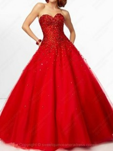Red Quinceanera Dresses | Quinceanera Dresses Red | Sweetquinceaneradress