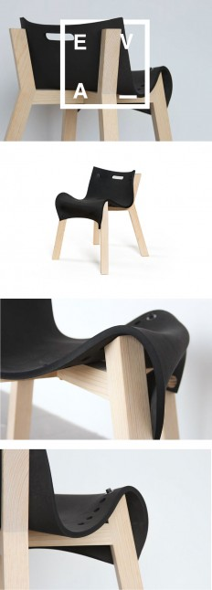 La Eva, Chair Design by David Ortiz