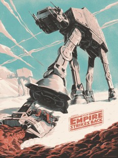 Star Wars Poster (The Empire Strikes Back) on