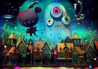 10 Fun Cartoon Works by Jonathan Ball | 3D and Animation