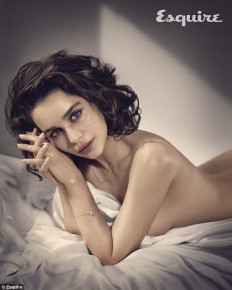 Esquire Magazine Names Emilia Clarke the Sexiest Woman Alive 2015 | Sneakhype