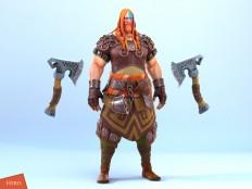 ArtStation - Hero of Nords (male), Danil Solovyov