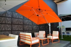 Outdoors: How To Beautify The Outdoor Patio Sets With Umbrella, Outdoor Patio Ideas, Fire Pit for Outdoor Patio ~ LouisasPorch.com