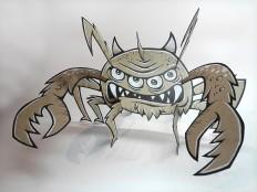 Alien Crab by Von Glitschka