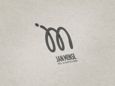 Personal logo design for Jan Mense on Inspirationde