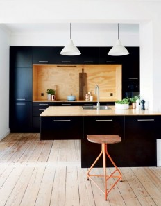 Ikea + Plywood = cool kitchen | For the Home | Pinterest | Kuchnie i Kuchnia