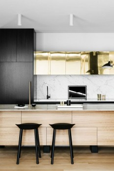 gold cabinets - love. | Home Sweet Home. | Pinterest | Szafki i Z?oto