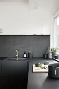Black. | Kitchen Inspiration | Pinterest | Czarny i Kuchnie