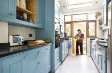 Kitchen: How To Make A Small Kitchen Look Larger With Simple Steps, Kitchen Design Ideas, Wall Color Paint for Kitchen ~ LouisasPorch.com