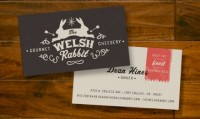 The Welsh Rabbit Cheese Shop Branding | Restaurant branding, marketing and other notes on various design topics