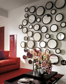Living Room: Wall Mirrors For Living Room That Express Who You Are, Contemporary Wall Mirrors, Wrought Iron Wall Mirrors ~ AostaFurniture.com